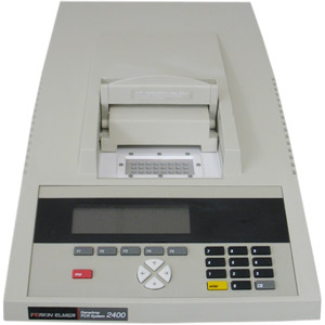 Perkin Elmer GeneAmp 2400 Thermal Cycler PCR